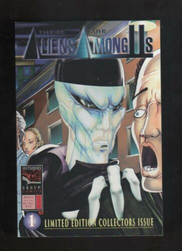 "1995 "" THERE ARE ALIENS AMONG US "" 1st ISSUE COMIC BOOK HIGH GRADE"