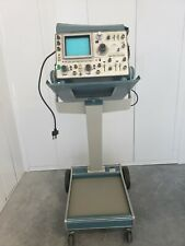 Tektronix 485 Oscilloscope With Cart Probes Amplifier Manual Works Great