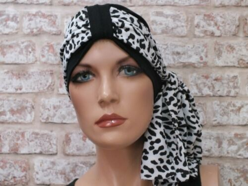 Chemo Jersey Hat Head wear  Turban and scarf for hair loss Cancer Leukemia
