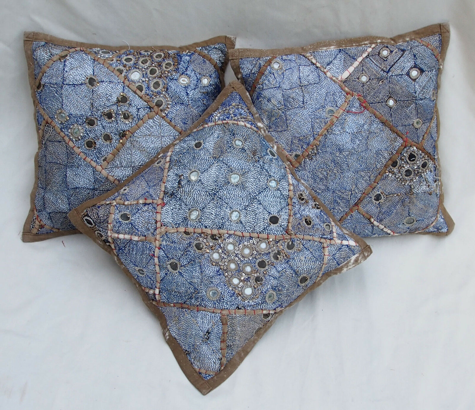 37x37cm Orient Patchwork Coussin Coussin Housse Embroiderouge Pillow Cushion Cover-F