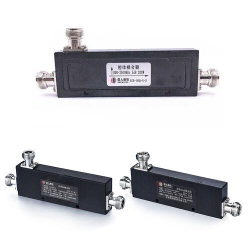 200Watt 5//7//12-40dB 800-2500MHz N Type Female RF Coaxial Directional Coupler