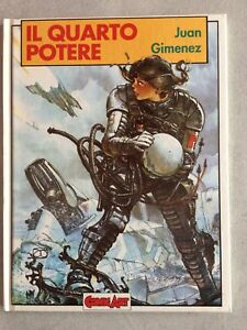IL-QUARTO-POTERE-JUAN-GIMENEZ-COMIC-ART-GRANDI-EROI-N-71-1990-DOT