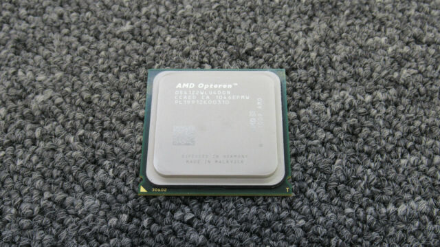 TRAY OF 12  AMD Opteron 4122 2.2GHz C32 CPU Processor OS4122WLU4DGN