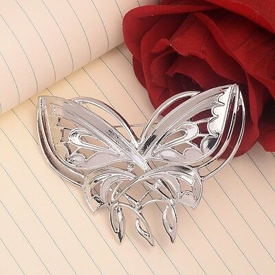 Lord of the Rings Hobbit Arwen Badge Silver Butterfly Brooch Jewelry Pin Women