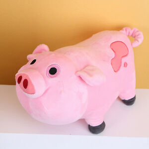 1pc Cute Pink Pig Stuffed Toy Gravity Falls Doll Kids Waddles Old