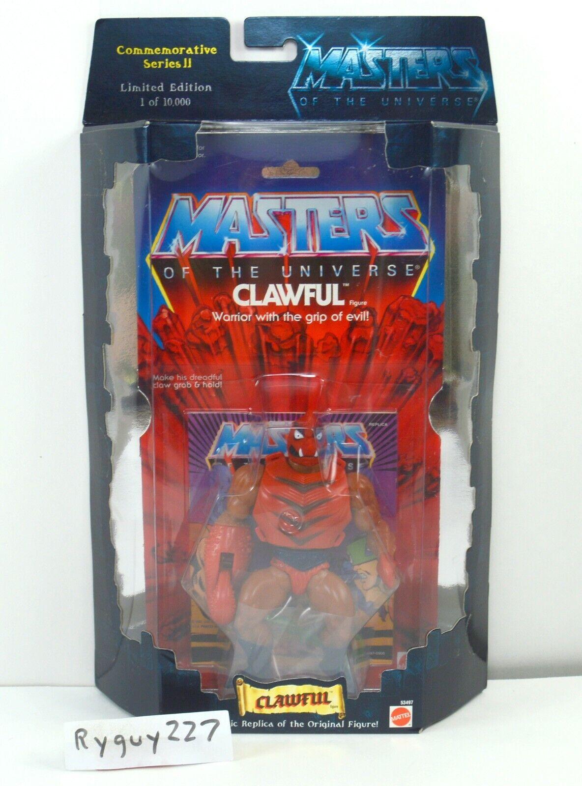 MOTU, Commemorative Clawful, MISB, sealed Box, MOC, Masters of the Universe