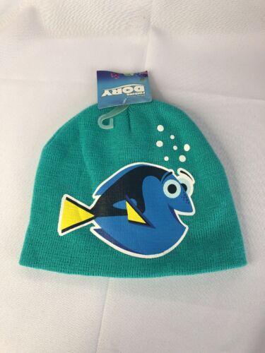 Disney Finding Dory Girl/'s Winter Hat Stretch Knit Beanie NWT OSFM Blue NEW