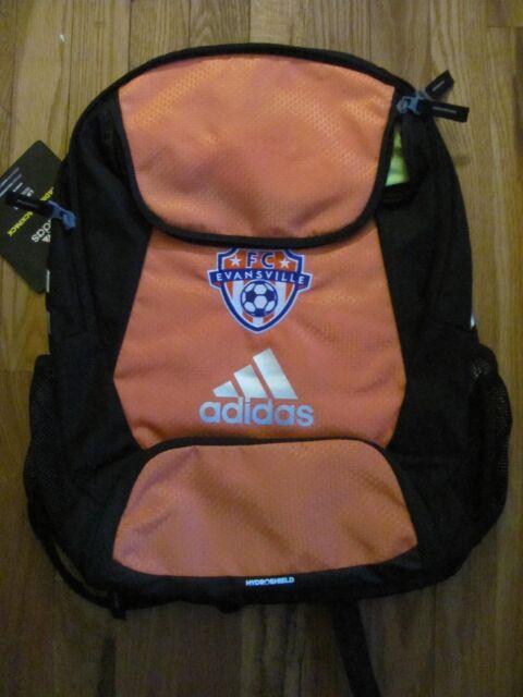 09efc5aa9 FC Evansville adidas Climaproof Stadium Team Gear Up Soccer Backpack Orange