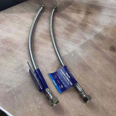 Jones Stephens Corp 1//2Odx1//2Fip 12 Ss Faucet Connector