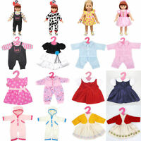 Handmade Clothes Dress Raincoat + Hat Outfits For 18 Inch American Girl Doll