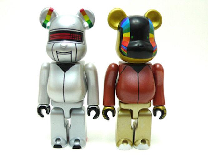 BE@RBRICK 100% Poco Común Daft Punk Inter Stella Ver. 5555 limitada BearBrick Japón