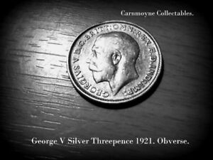 George V Silver Threepence 1912. AH6874.