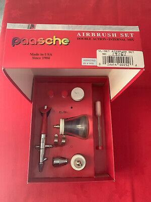 Paasche Airbrush VL-SET mai usato!