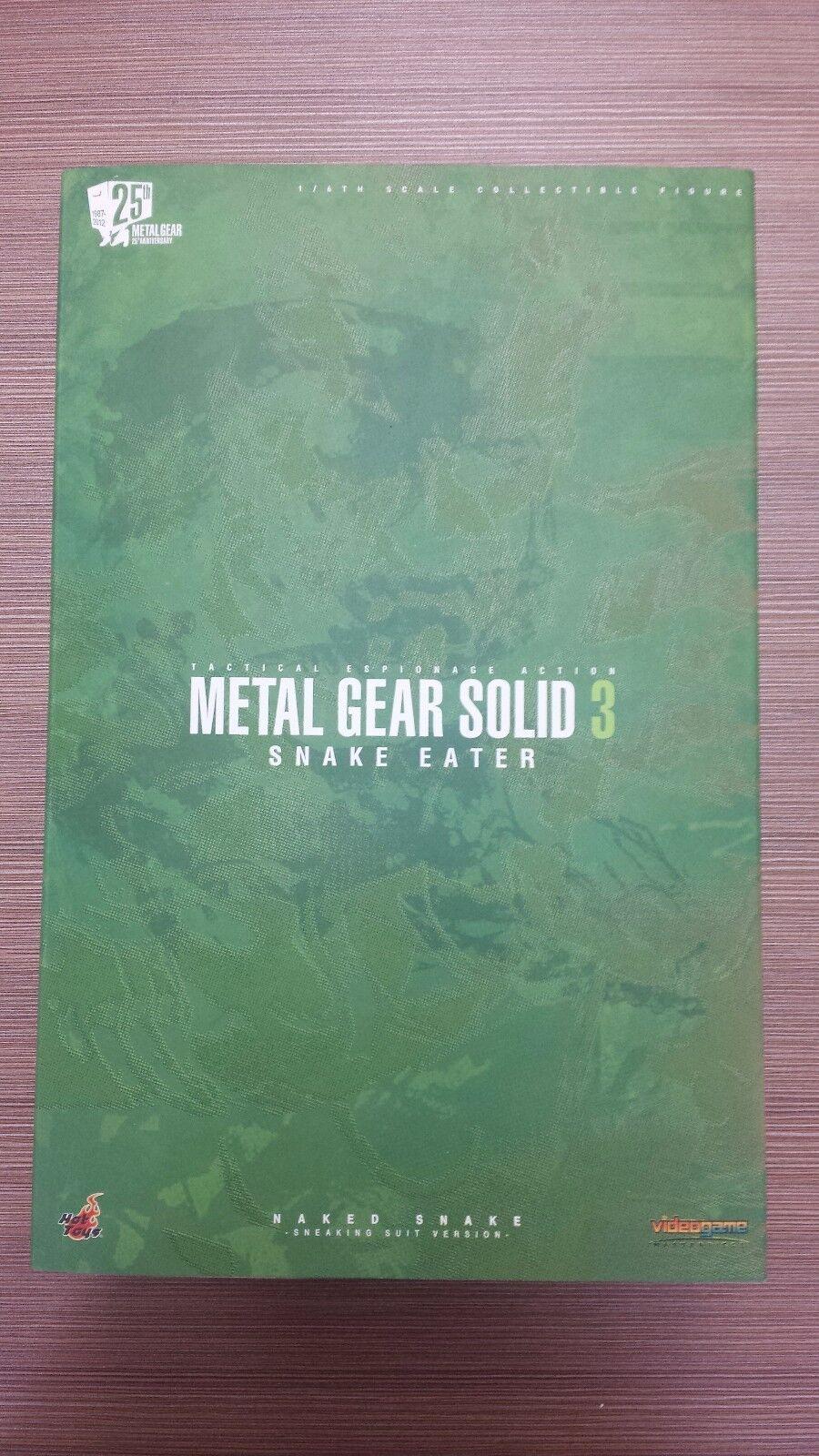 heta leksaker VGM 15 Metal Gear Solid 3 Naked Snake (Sneaking Suit Version) NY