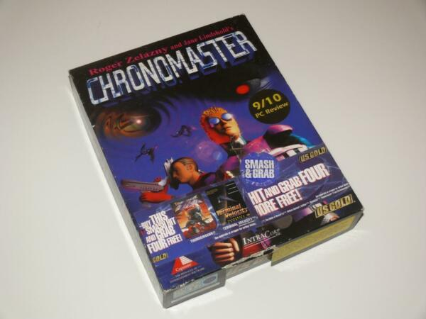 100% Waar Pc Cd-rom Big Box ~ Chronomaster By Us Gold ~ (our Ref: Rc)