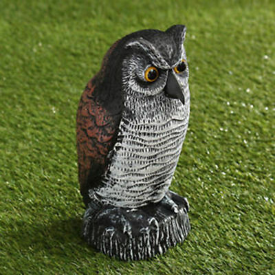Large Plastic Hawk Decoy Bird Pigeon Crow Scarer Scarecrow Garden 15/'/'