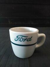 Vtg FORD logo JACKSON china Falls Creek Pa Restaurant Mug/Cup