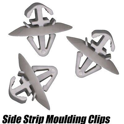 100x Car Side Moulding Lower Protection Door Trim Clips For Nissan Primastar New