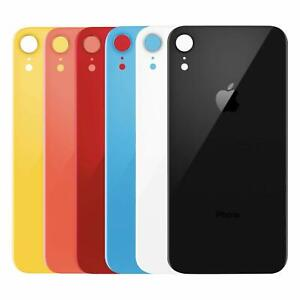 Apple Iphone Xr Back Glass Oem Replacement Battery Door Cover W Adhesive Ebay