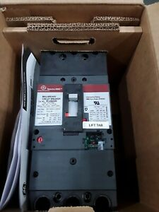 SFLA36AI0250 250AMP 3 POLE 600V GENERAL ELECTRIC CIRCUIT BREAKER NEW