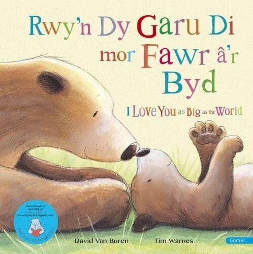 1 of 1 - Rwy'n Dy Garu Di MOR Fawr A'r Byd / I Love You as Big as the World,David Van Bu