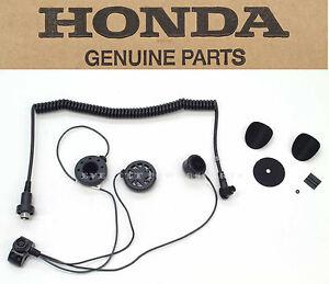 new genuine honda deluxe headset full face helmets gl1800 gl1500 rh ebay com Wiring Diagram Honda CRF150R Goldwing Honda Motorcycle Wiring Diagrams