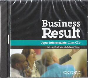 Oxford-BUSINESS-RESULT-Upper-Intermediate-Level-Class-Audio-CDs-NEW-amp-SEALED