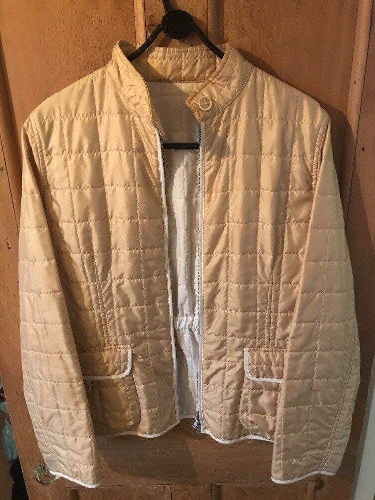 Beige Coat By Fay - Tods -  Size 12