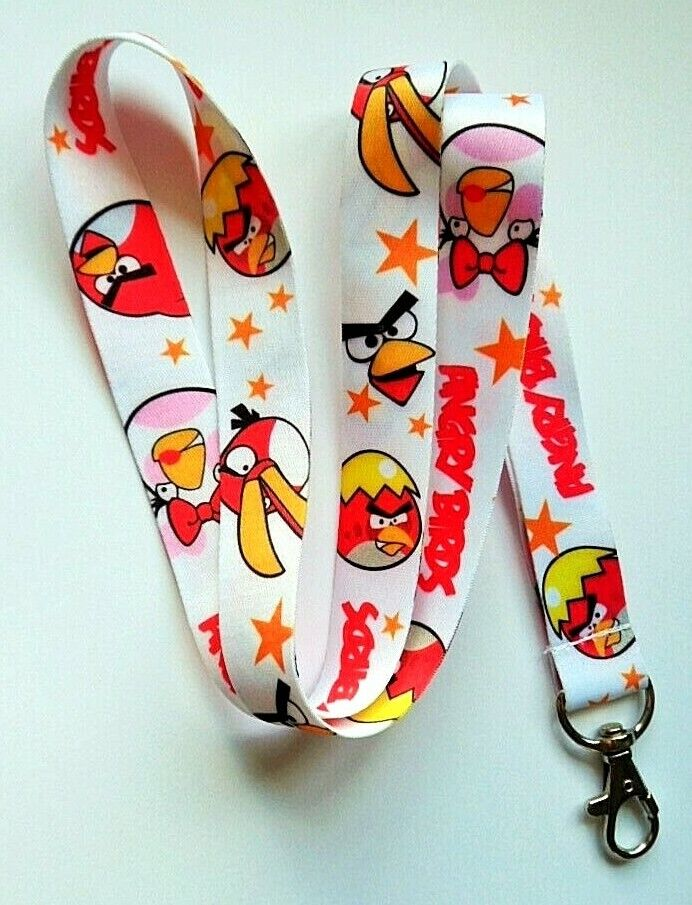Angry Birds Lanyard Neck Strap id holder