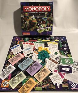 Monopoly Teenage Mutant Ninja Turtles Edition NEW! 2014 Family Board Game
