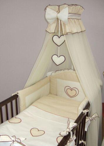 Baldachin Halter Moskitonetz 480 cm für Kinderbett Baby Baldachin Herz