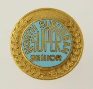 Norte-Suburbano-Super-Senior-Vintage-Escuela-Premio-Pin