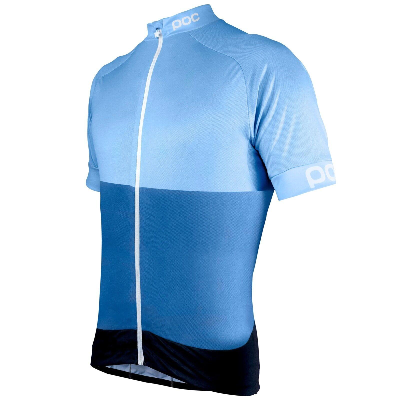 POC Fondo Light Jersey Classic Medium Multi Blau, Medium Classic 5ecb6d