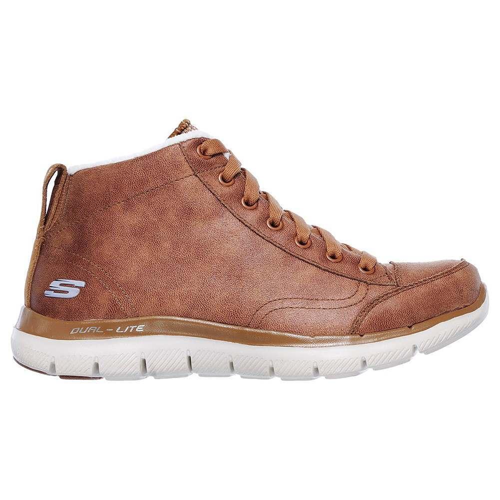 Skechers Flex Flex Flex Appeal 2.0-Warm Wishes  shoes Brown Women 08b3e9