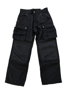 Impartial Carhartt Regular Cargo Pant Pantalon Cargo Moleskine Trekkinghose Pantalon Noir-afficher Le Titre D'origine