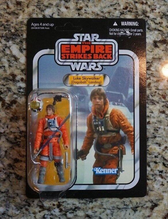 Luke Skywalker Dagobah STAR WARS Vintage Collection VC44 UNPUNCHED VARIANT  2