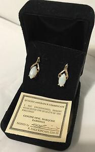 QVC-Genuine-Opal-Marquise-Earrings-in-a-black-Velvet-Box