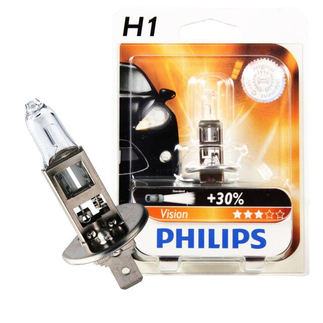 Philips Visión H1 12V 55W Casquillo P145s Lebesdauer B3/TC 200/400 1270974