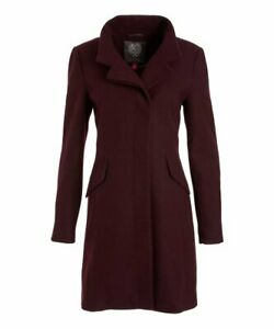 MSRP-320-Vince-Camuto-Port-Royale-Notch-Collar-Wool-Blend-Coat-Size-L