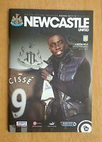 2011/12  NEWCASTLE UNITED v ASTON VILLA  -  EXCELLENT CONDITION