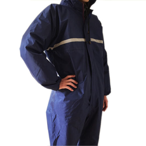 Fashion Men and Women Work Suit Conjoined raincoats overalls Electric motorcycle