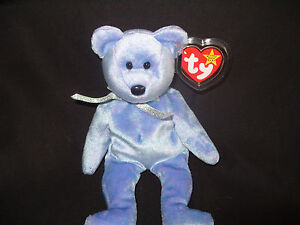 4acbf81bf0a Image is loading TY-BEANIE-BABY-BEAR-CLUBBY-II-MINT-RETIRED