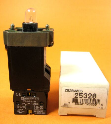 Telemecanique ZB2BW035 Light Switch Module NEW