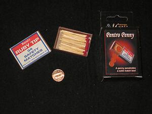 Pentro Penny Magic Trick - Close Up, Street, Coin Magic, Walk Around