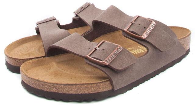 25b63f912ee4 Birkenstock Arizona Birkibuc Unisex Shoes Slides Sandals Mocca EU 43 ...