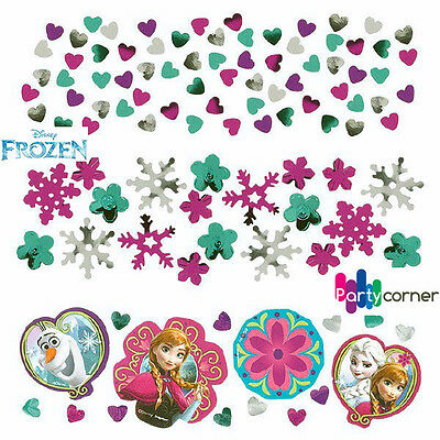 DISNEY FROZEN PARTY SUPPLIES CONFETTI VALUE PACK OF 34g (1.2oz) TABLE DECORATION