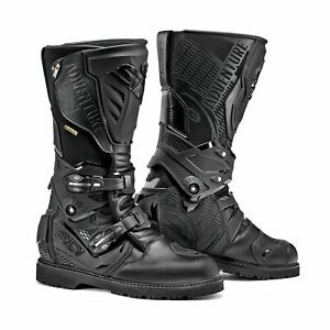 Sidi-Adventure-2-GTX-Gore-Tex-Waterproof-Touring-Motorcycle-Boots-Black