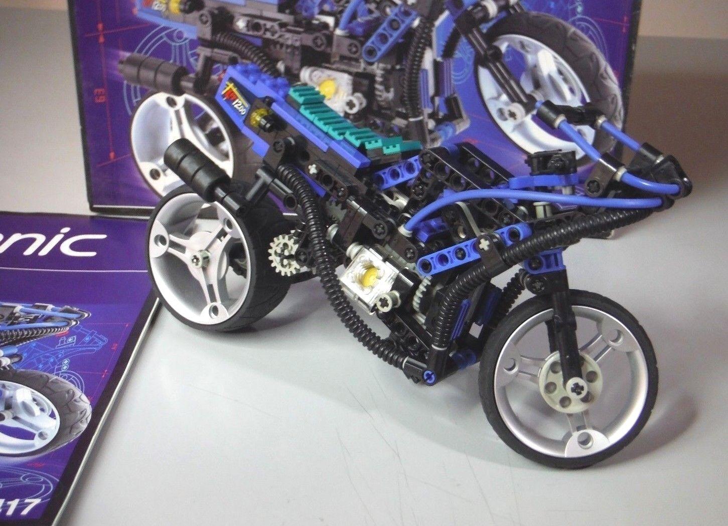 SET LEGO TECHNIC 8417 MOTO SUPER BIKE - COMPLETO 100% - RARITA'
