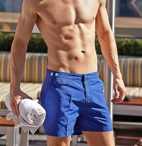 c6ef8849daed6 M&S Autograph David Gandy Blue Swim Shorts Size 28