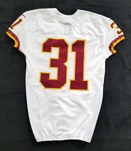 #31 No Name of Washington Redskins NFL Locker Room Game Issued Jersey